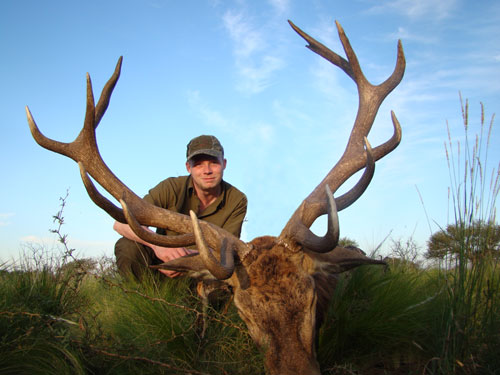 Patagonia Red Stag hunt